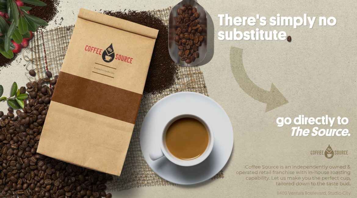 Directly to the Source | Creative Campaign for Coffee Source
